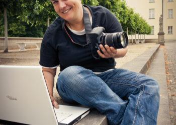 Monique Kalkhof ist die Facebookbotschafterin des Bezirks Köpenicks