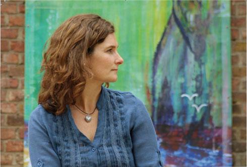 Die Künstlerin Koki van Trotten in einer Profilaufnahme