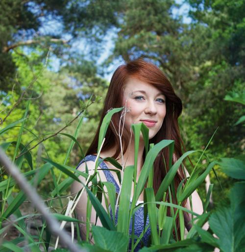 Anja im Müggeldschungel