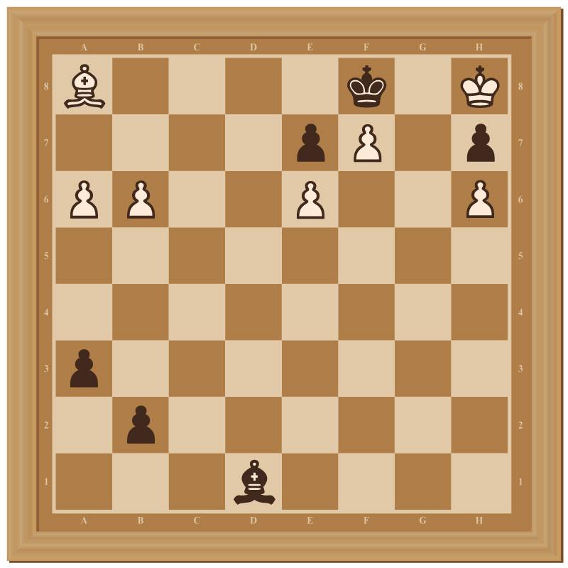 Schachecke aus Maulbeerausgabe 91