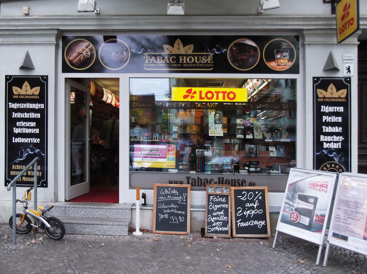 Zigarren, Whiskey, Tabak, tabac house, Friedrichshagen, Bölschestraße