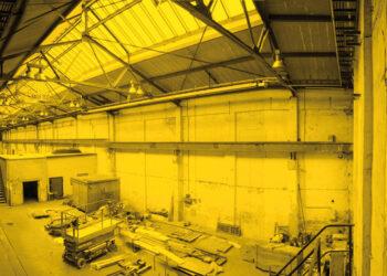 Werkhalle in OSW