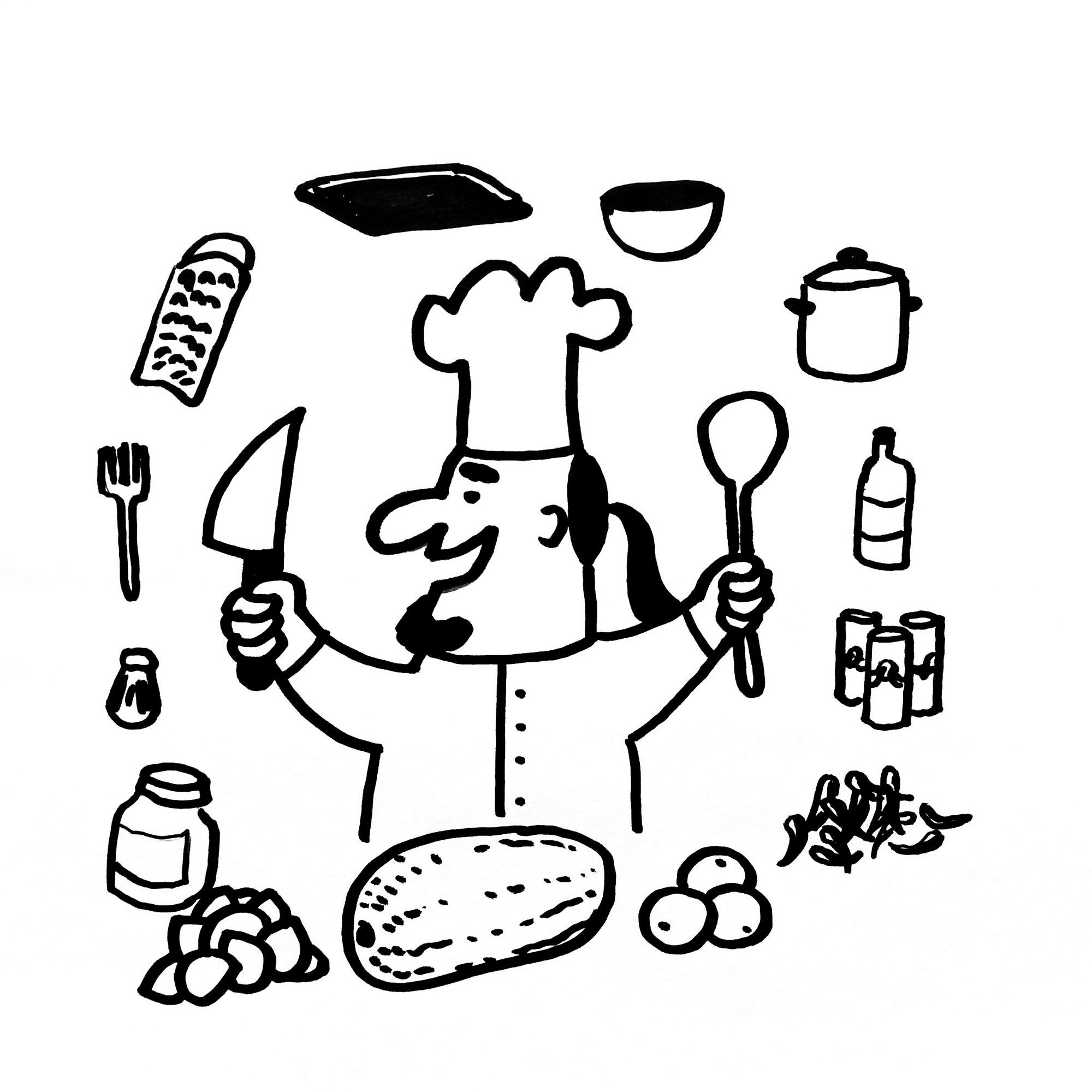 Alf tritt in Sinas Fußstapfen und übernimmt die Rezepte-Rubrik