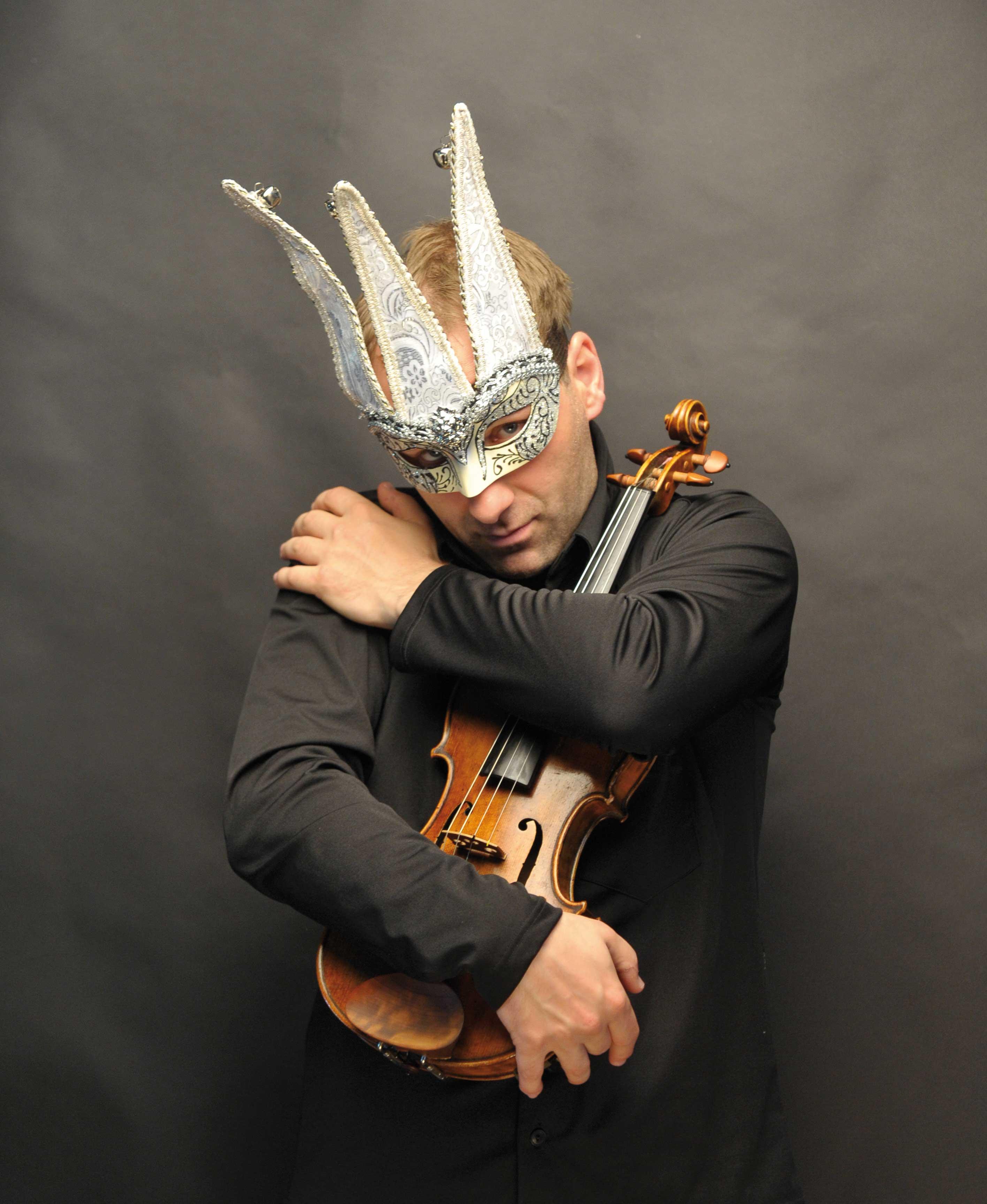 Teufelsgeiger, Maske, Geige