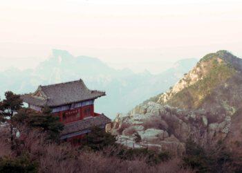 Chinareise, Berge, Hütte