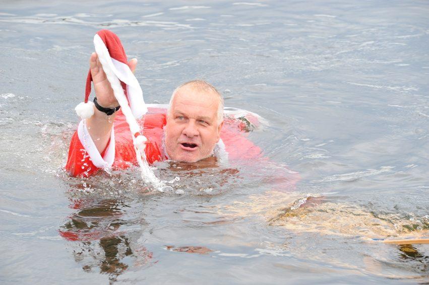 Supermacht geht baden Müggel-Mortale Seebad Friedrichshagen