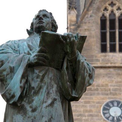 Martin Luther aus Bronze