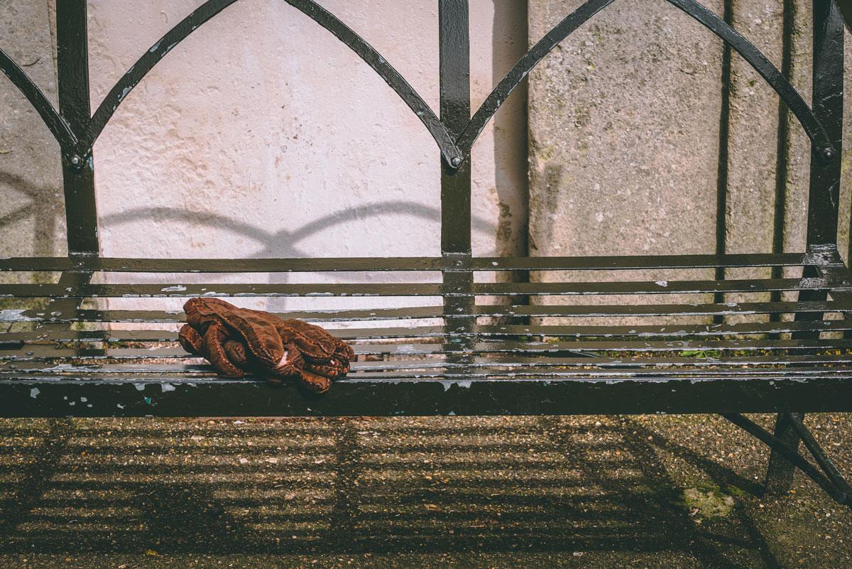 verlorene Handschuhe