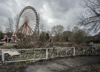 rostiges Riesenrad