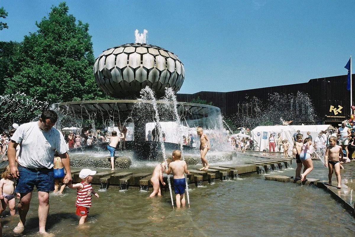 Der Brunnen im FEZ-Berlin