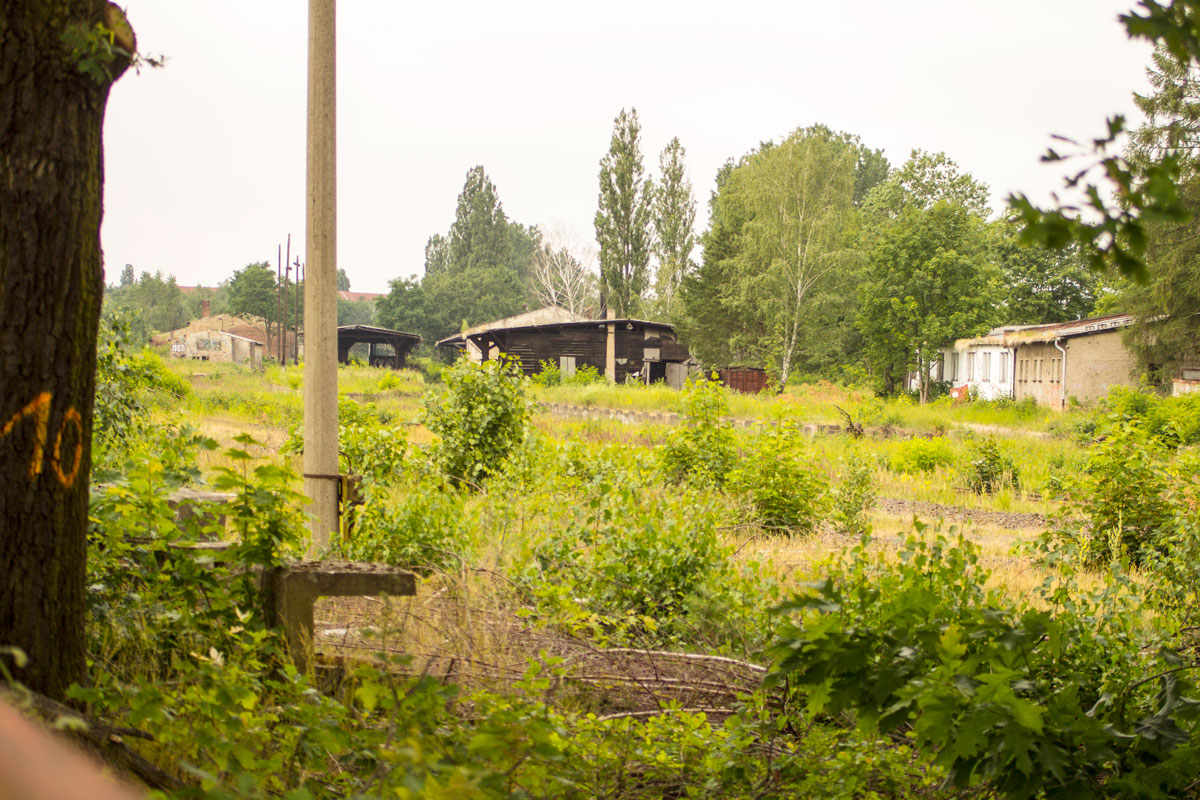 Der alte Güterbahnhof Köpenick