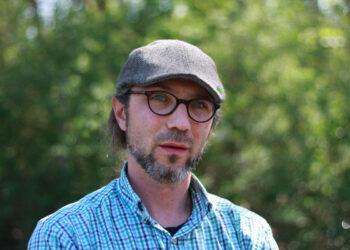 Jacob Zellmer, Fraktionsvorsitzender der Treptow-Köpenicker Grünen
