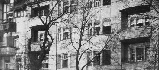 historische Fotografie des Hauses in der Bölschestraße 11