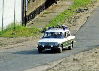 Patrouillenfahrzeug der DDR Volkspolizei
