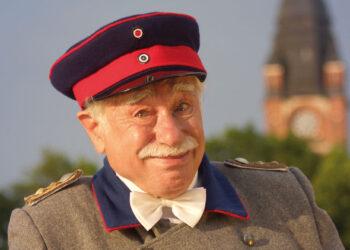 Der Hauptmann-von-Köpenick-Darsteller Jürgen Hilbrecht