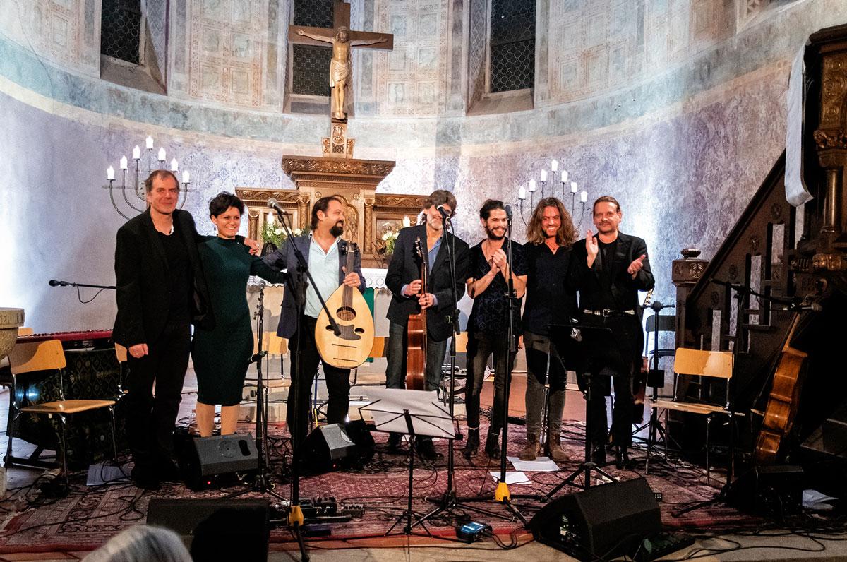 Die Musiker des Friedenskonzertes 2019