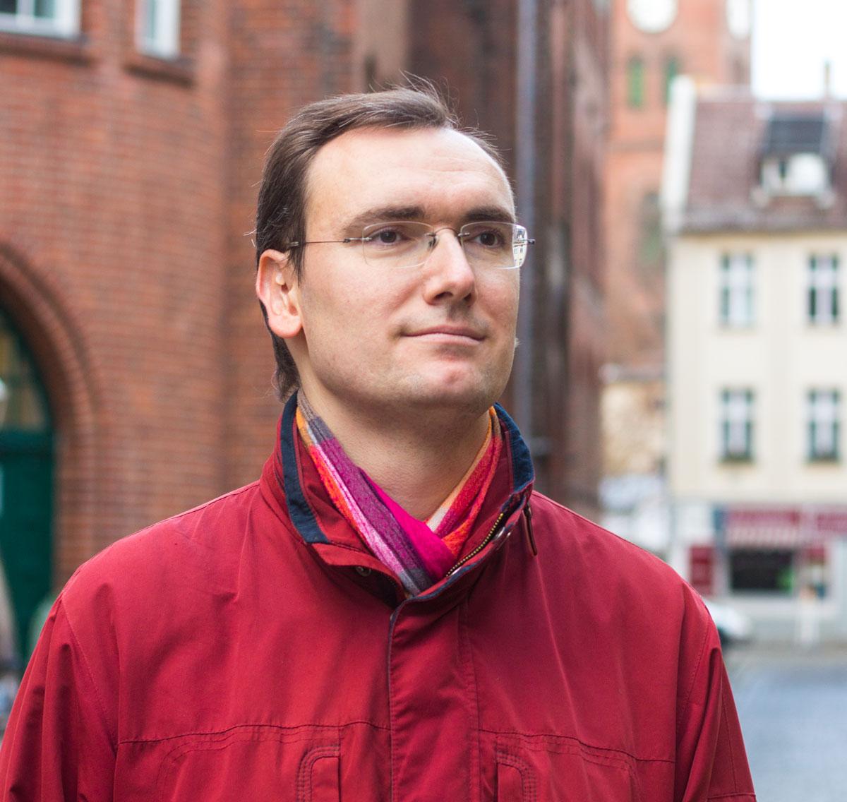Stefan Förster in der Böttchergasse