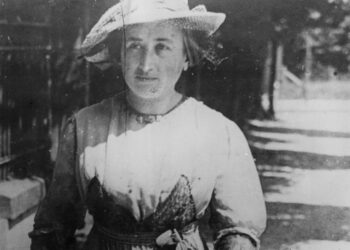 Rosa Luxemburg on the street