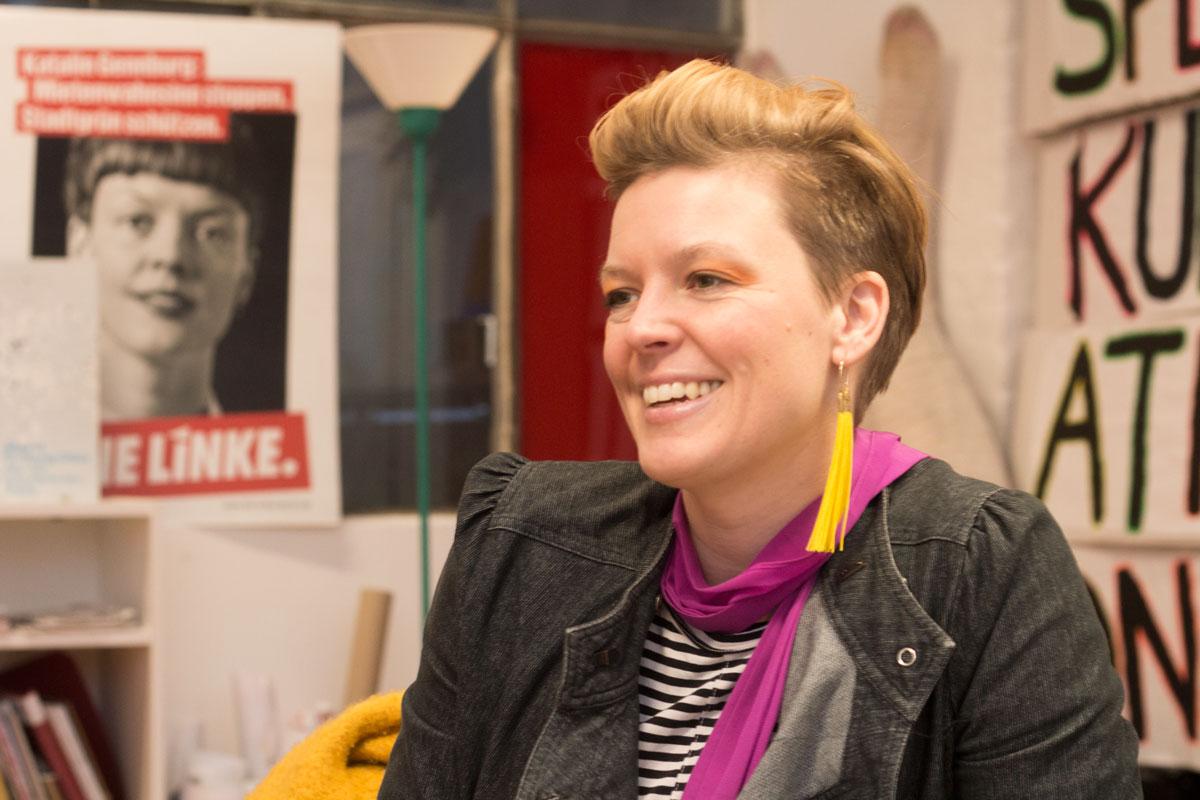 Katalin Gennburg im Interview mit dem Maulbeerblatt