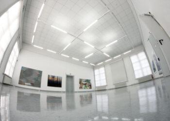 "Der große Saal der Galerie ""Alte Schule"""