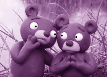 In Furcht vor Wuzilla vereint: Wuhlebär und Erpebär