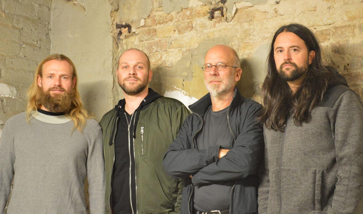 Die vier Jungs der Kapelle Snörp
