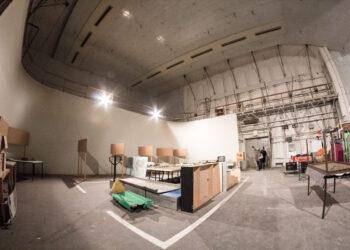 Das Studio 5 ist eine Baustelle