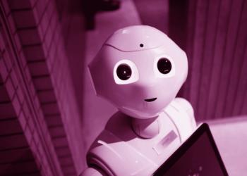 niedlicher Roboter