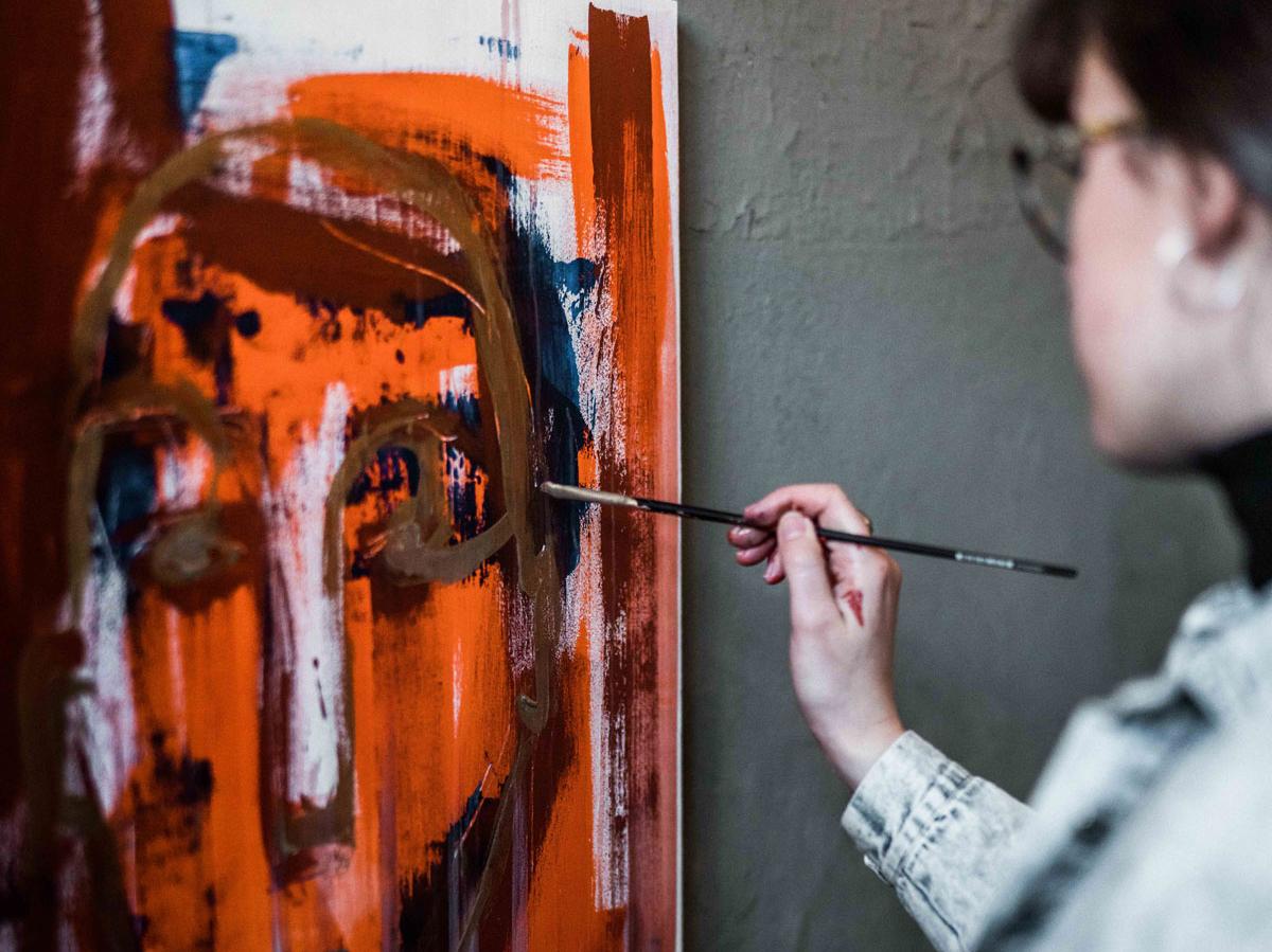 Jailsessions – Malerin in einer Zelle