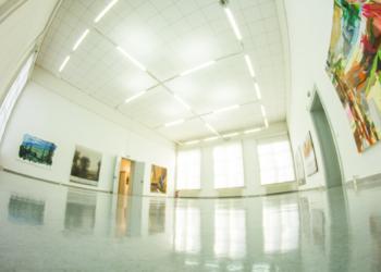 Galerie Alte Schule Adlershof, Großer Saal