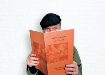 """Steffen Thiemann liest aus dem Künstlerheft """"Im Tunnel"""""""