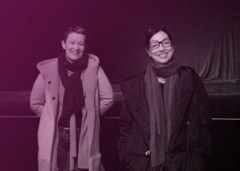 """Kathrin Schülein (rechts) und Marlene Heupel gehören zu den Initiatoren der Petition """"Kultur ins Grundgesetz"""". (Foto: Matti Fischer)"""