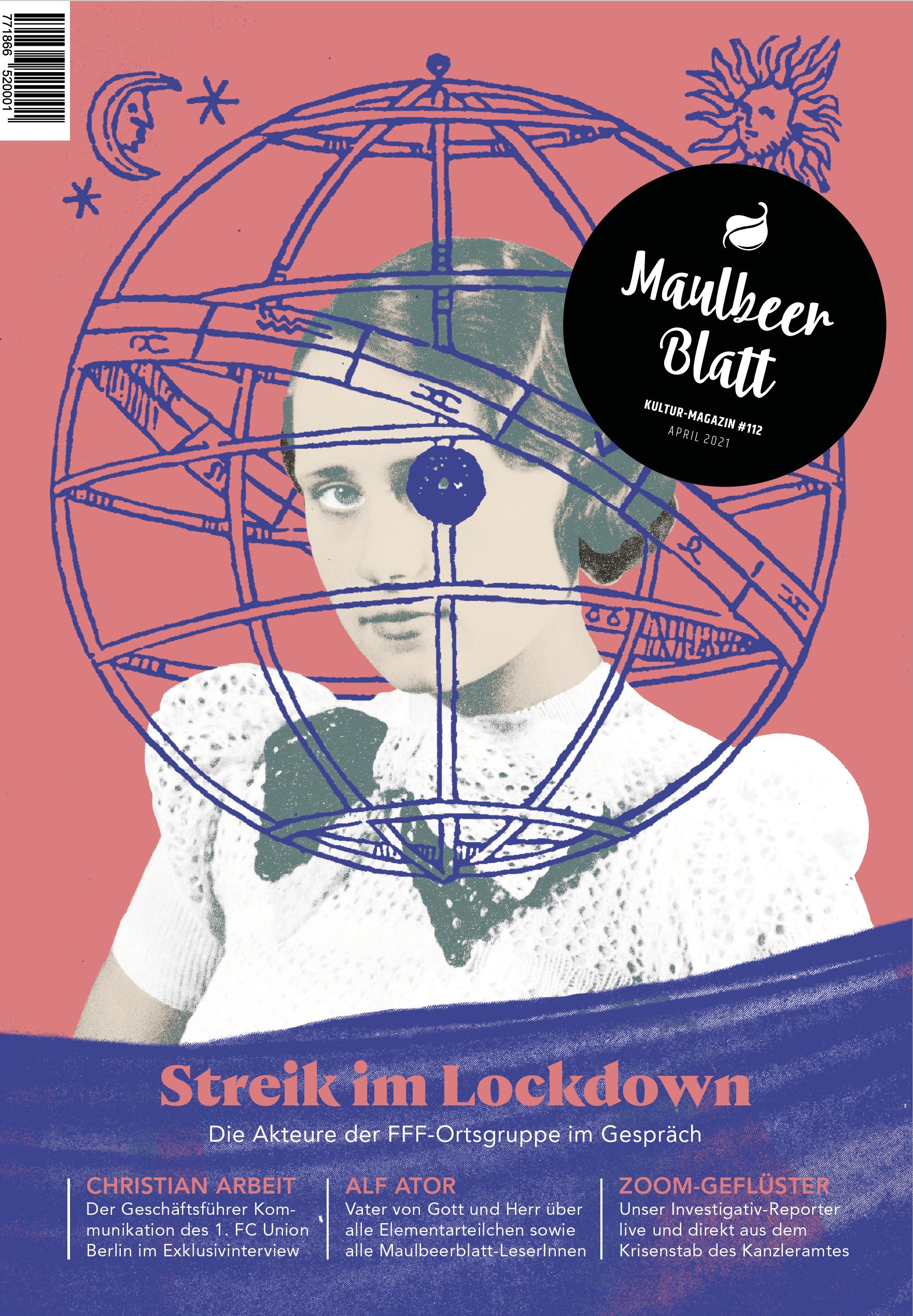 Cover des Maulberblattes Ausgabe 112