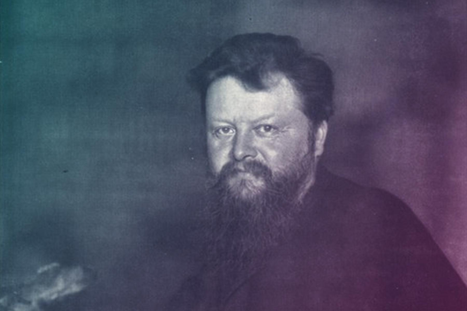 Porträt des Wilhelm Bölsche