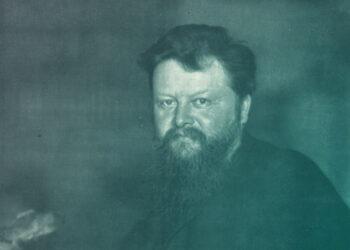 Porträt von Wilhelm Bölsche